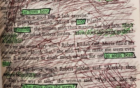 Blackout Poetry – For Whom the Bell Tolls
