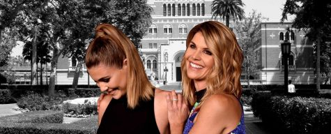 Lori Laughlin, actress who played Aunt Becky in Full House, with her daughter, Olivia Jade